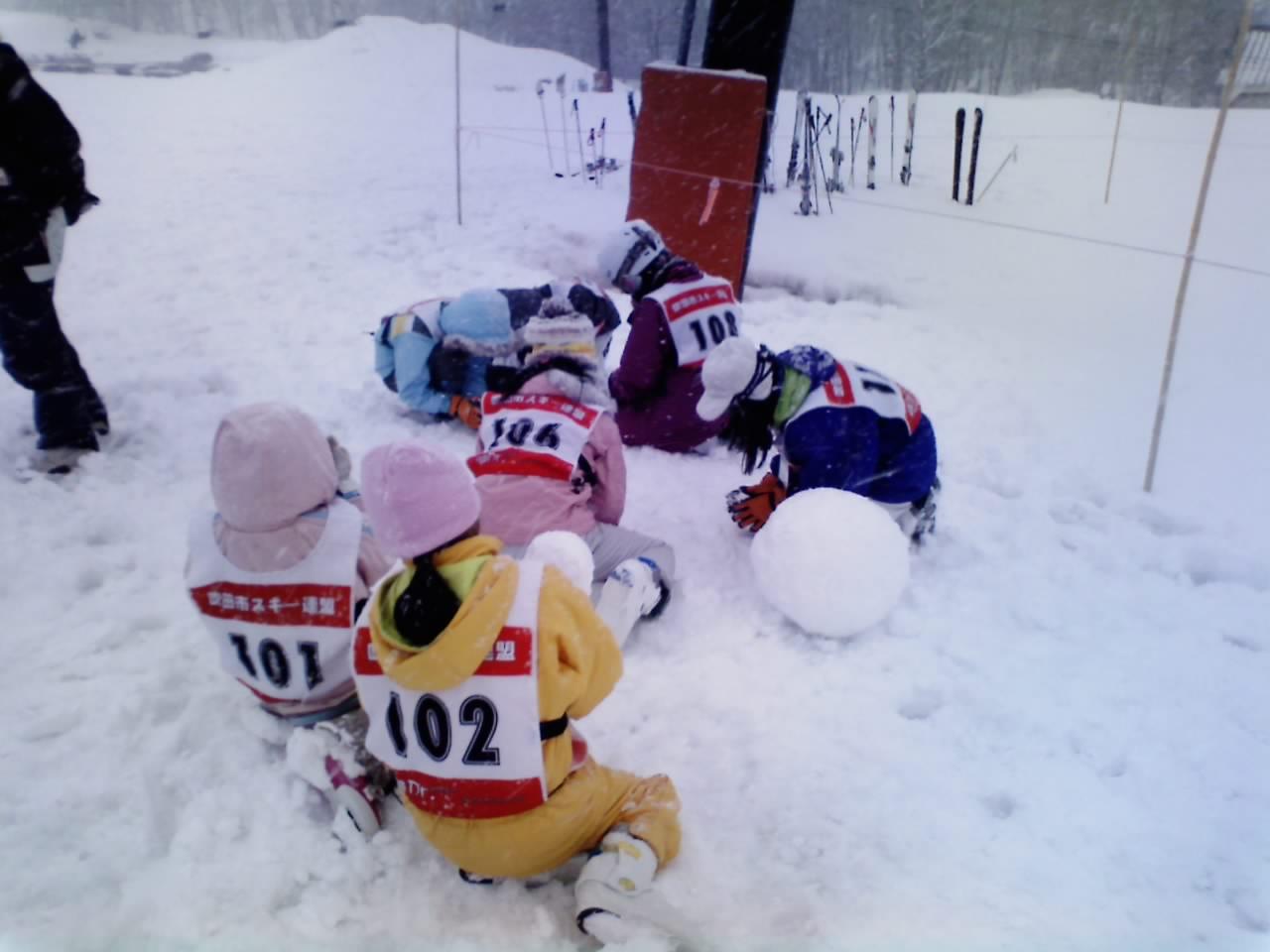 恒例雪上ゲーム