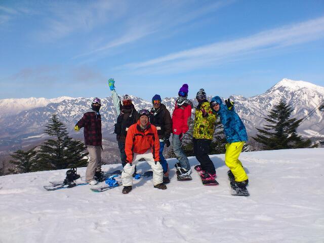 スノーボード研修班