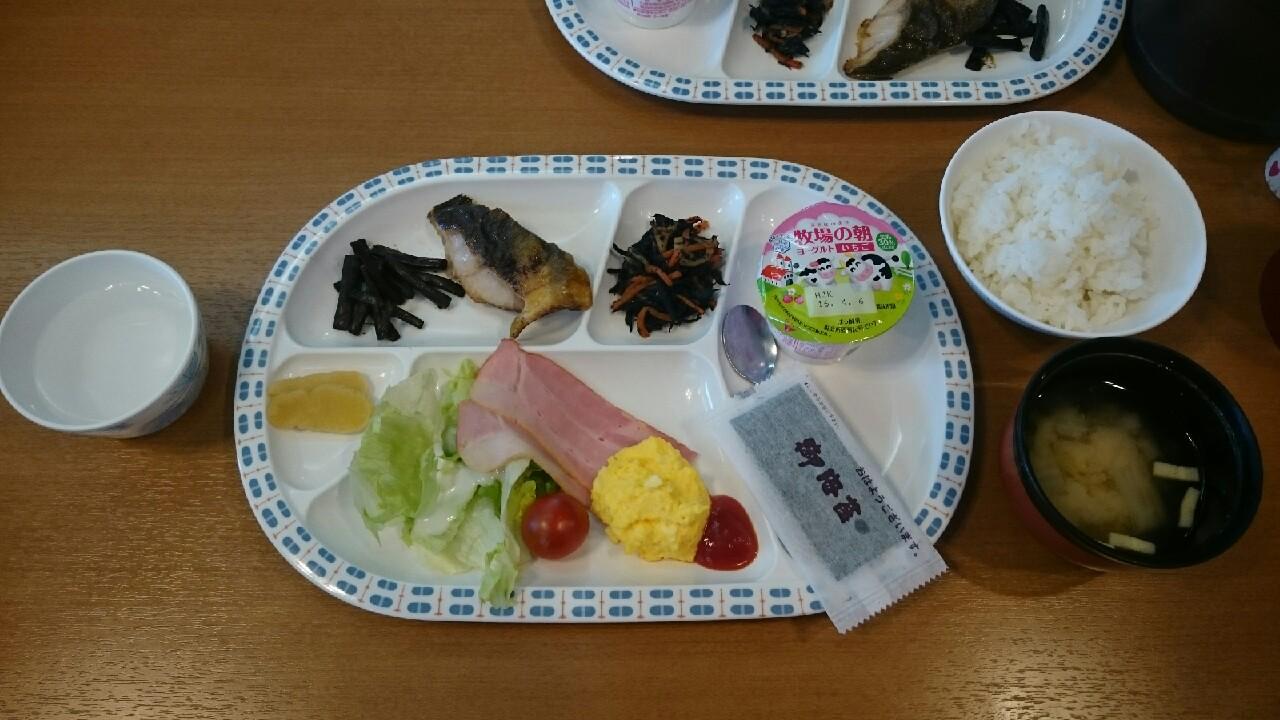 2016ジュニア3<br />  日目朝食♪